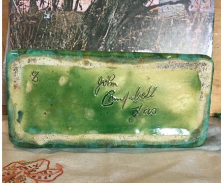 Trough Vase By John Campbell Old Sunken Vessel